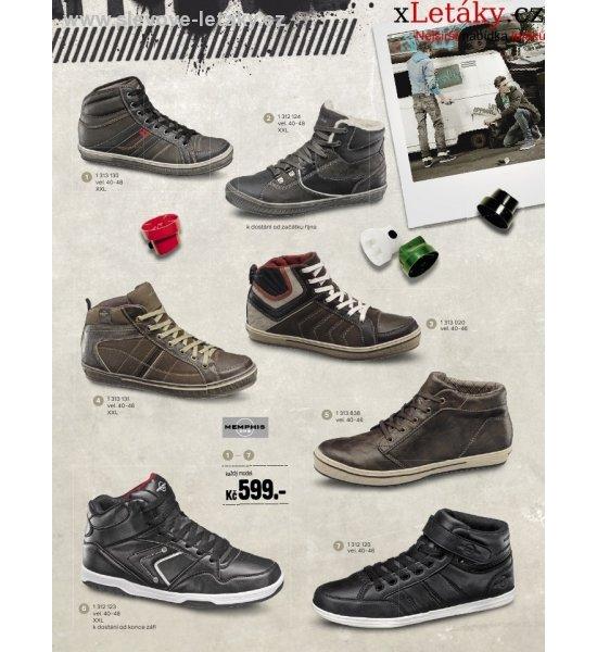 24bf8eed8d33 Deichmann katalog - pánská podzimní obuv slevové letáky