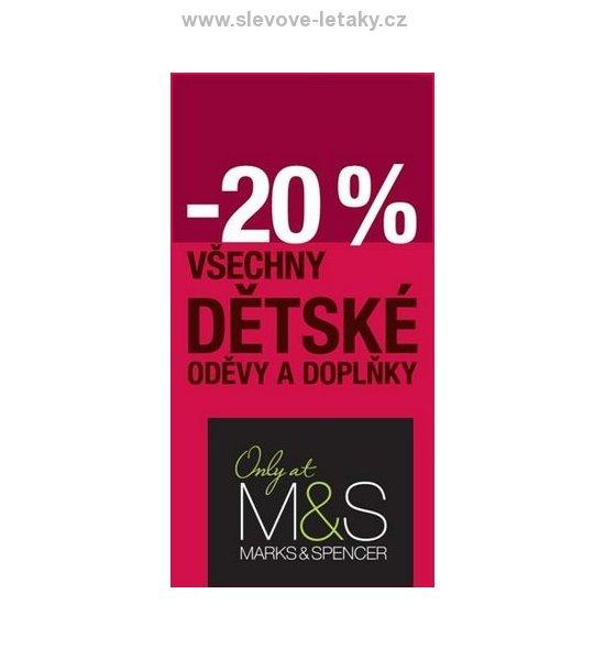 Dětské oblečení M S - slevy 20% slevové letáky 947a676fd1