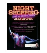 Night shopping ve Zlatém Jablku
