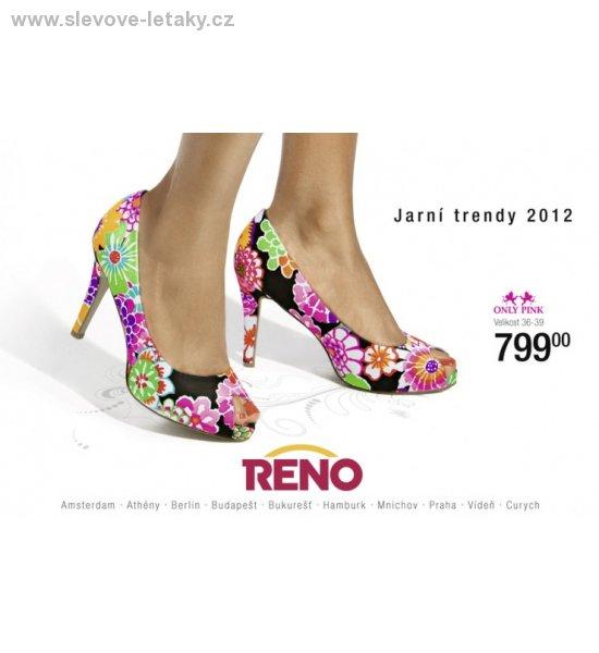 38c1c7171c19 Jarní kolekce Reno obuv 2012 slevové letáky