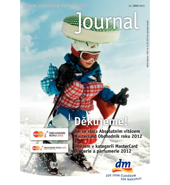 leták Journal - DM drogerie strana 1