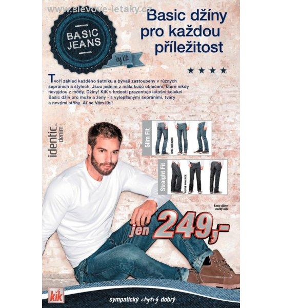e204a295d8108 Kik leták - basic jeans slevové letáky, strana 2